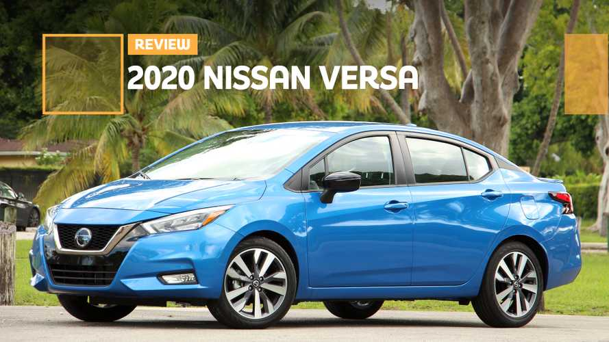 2020 Nissan Versa SR Review: Safe And Stylish Subcompact