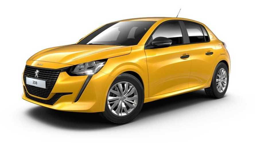 Peugeot 208 2020 - Versão de entrada