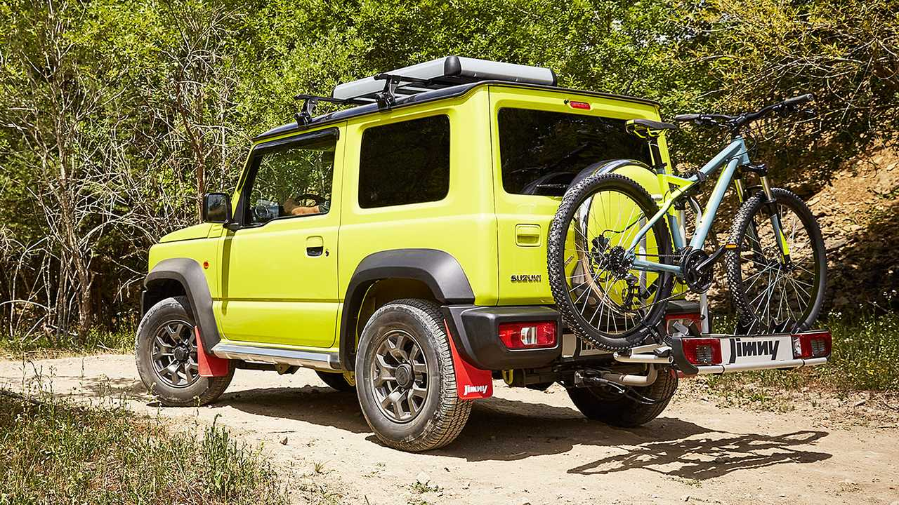 Suzuki Jimny porta biciclette