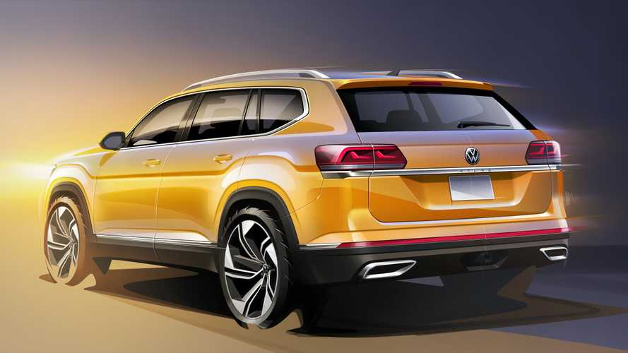 Обновленный VW Teramont: первые эскизы