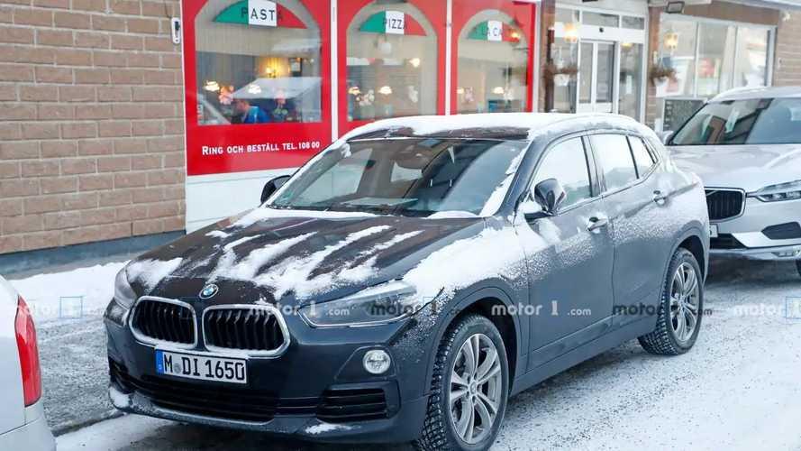 BMW X2 Electric spy photos