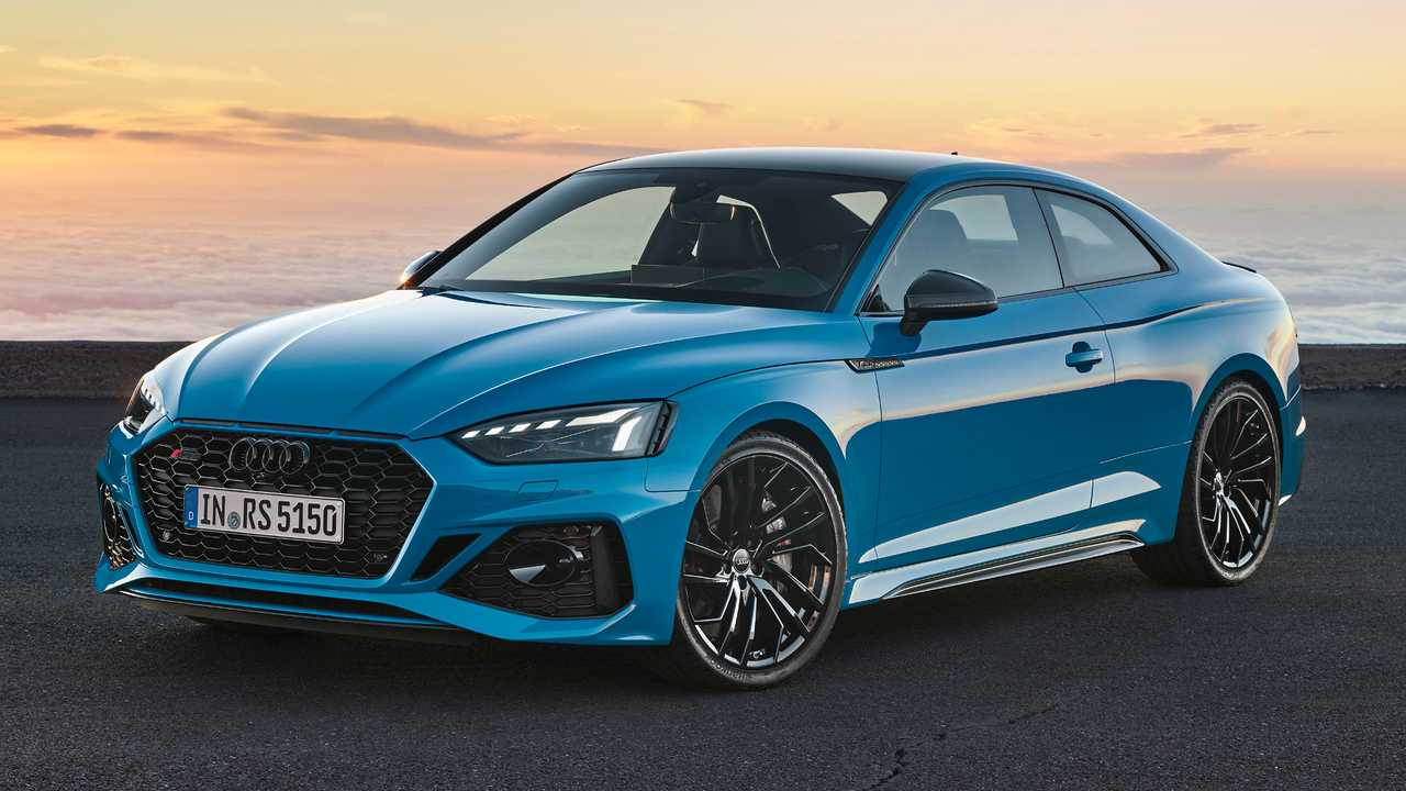 2020 Audi RS5 Coupe facelift