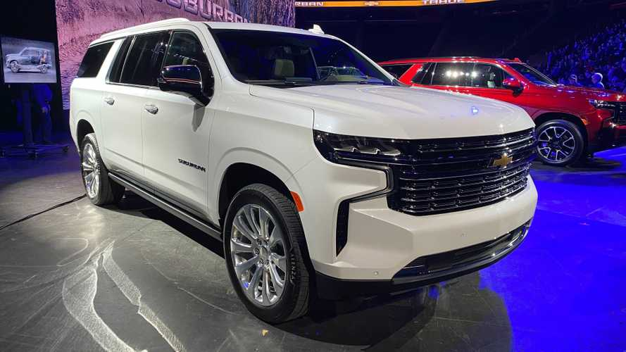2021 Chevrolet Suburban, Tahoe Debut With Diesel Power And IRS