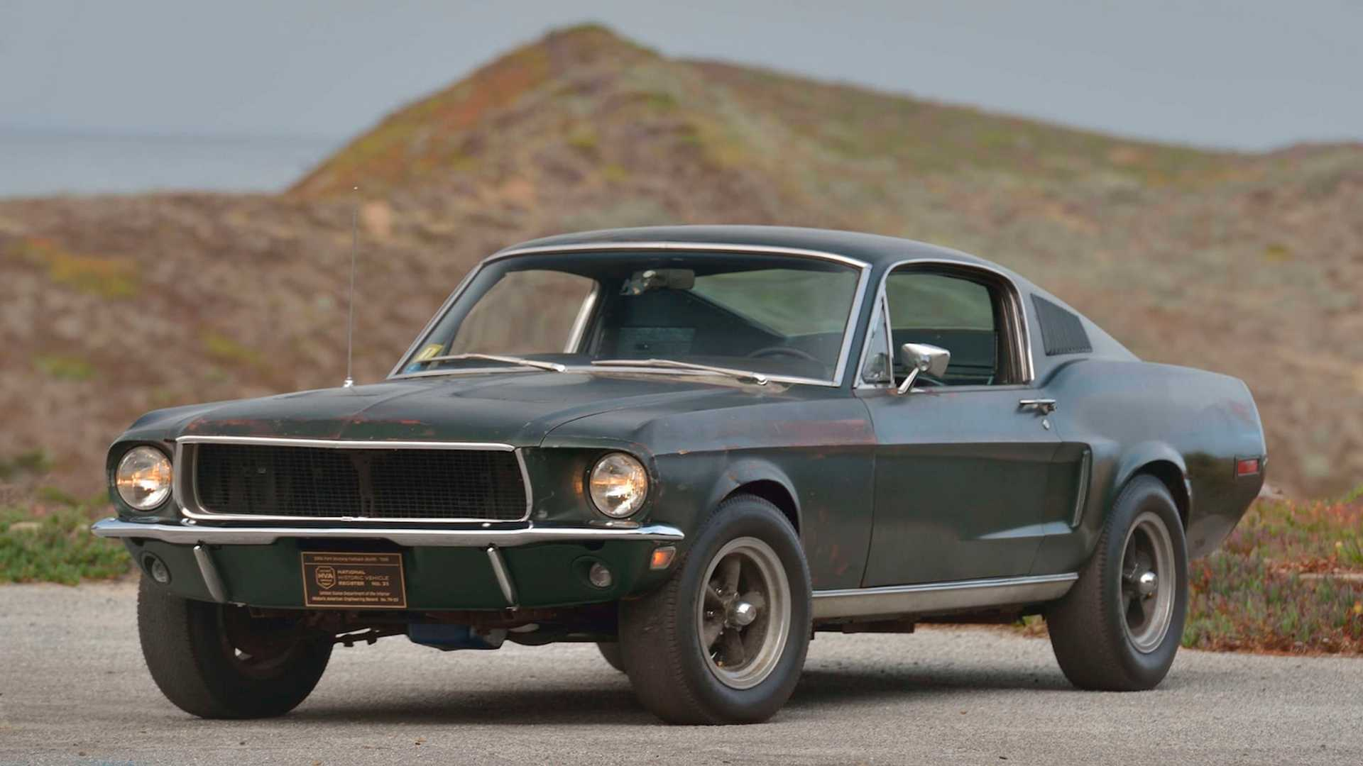 "[""Here's How The Bullitt Mustang Went From Hollywood To Mecum""]"