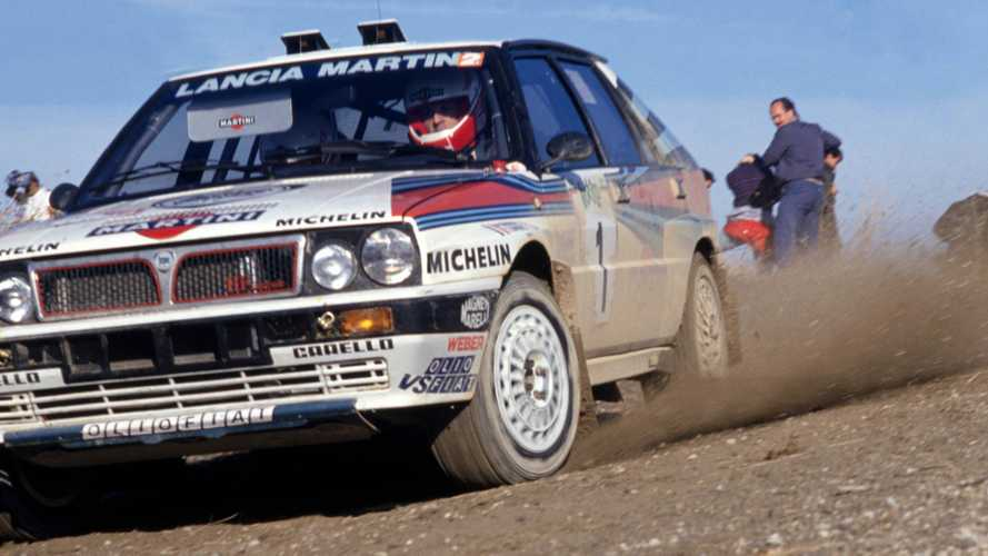 McRaes, Biasion among cars and stars on Race Retro Live Action rally stage