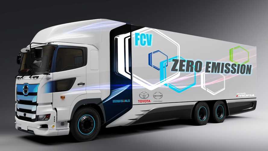 Toyota And Hino To Jointly Develop Hydrogen Heavy-Duty Truck