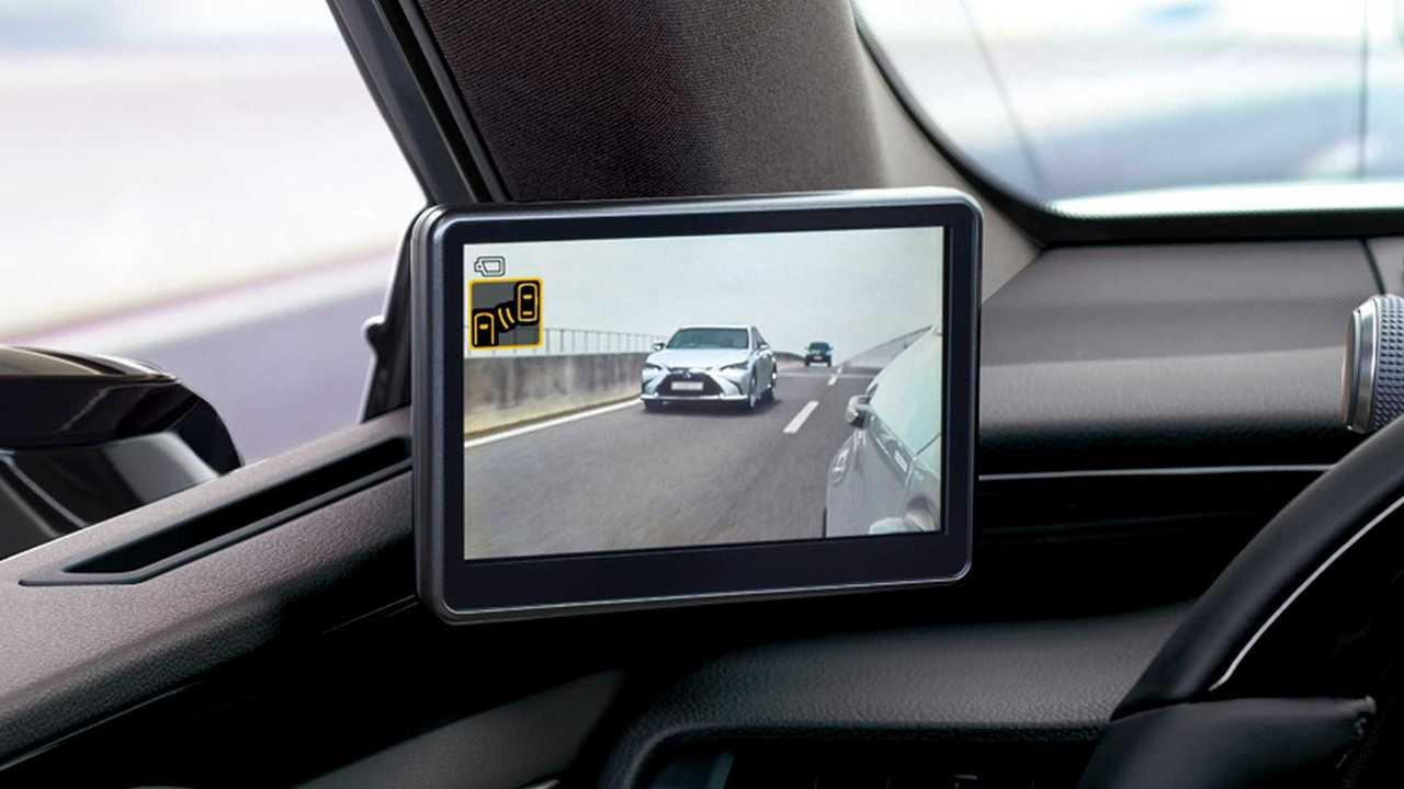 Lexus ES: Kamerasystem statt Außenspiegeln