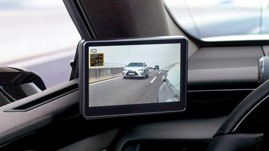 Lexus ES 300h: Außenspiegel-Kameras jetzt verfügbar