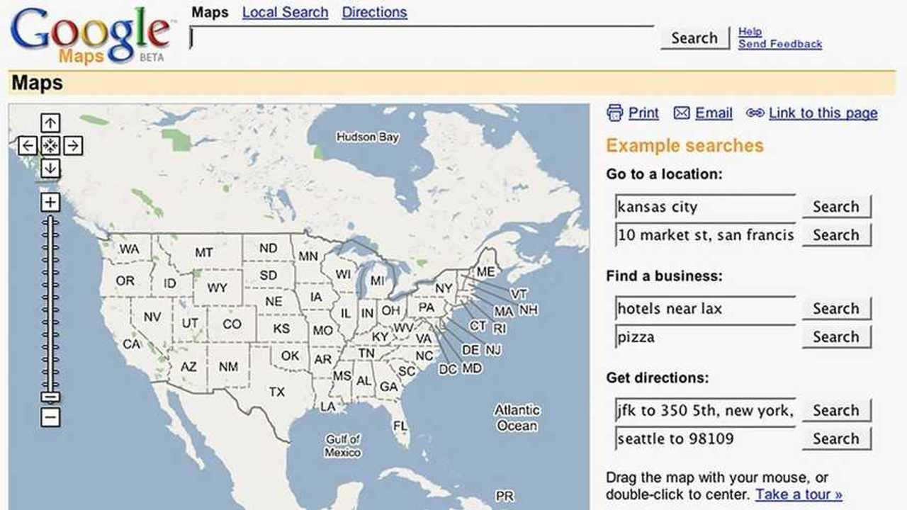 I 15 anni di Google Maps