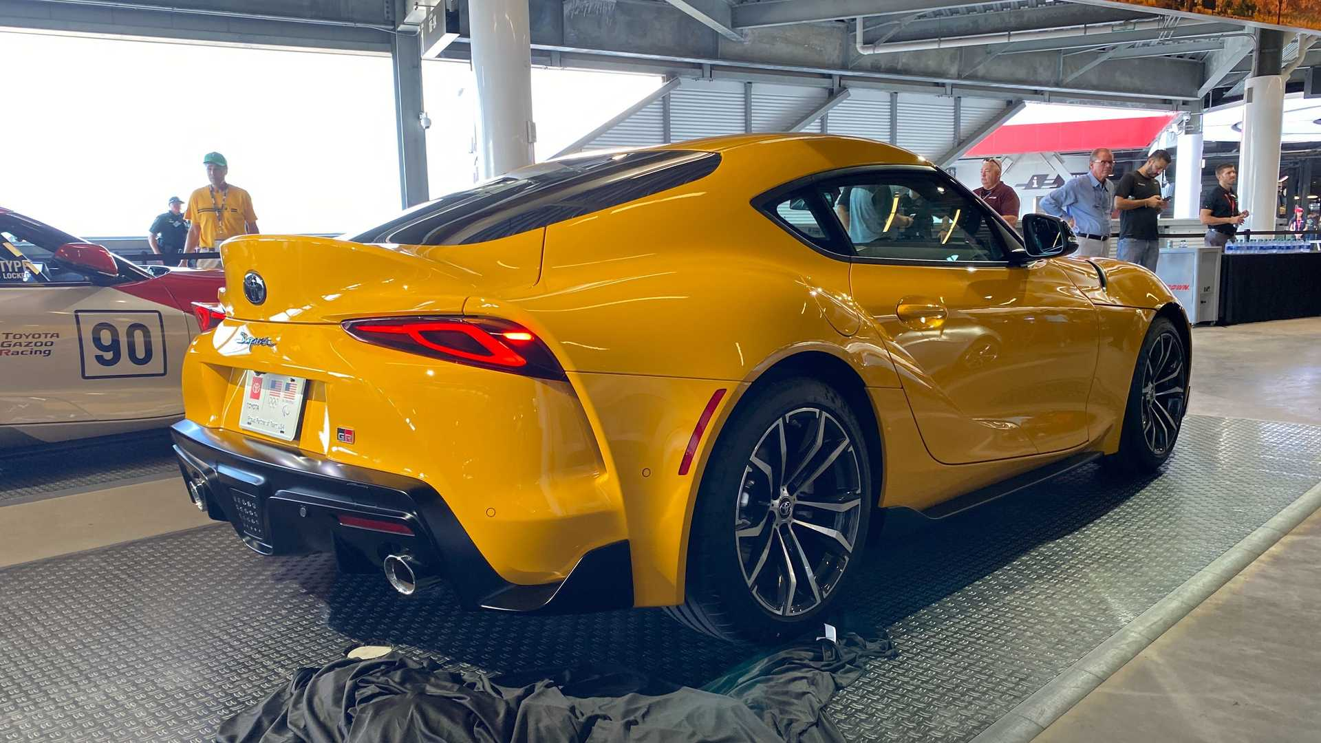 2021 toyota supra 4cylinder debuts with 255 hp 200 fewer