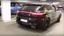 porsche cayenne coupe new exhaust