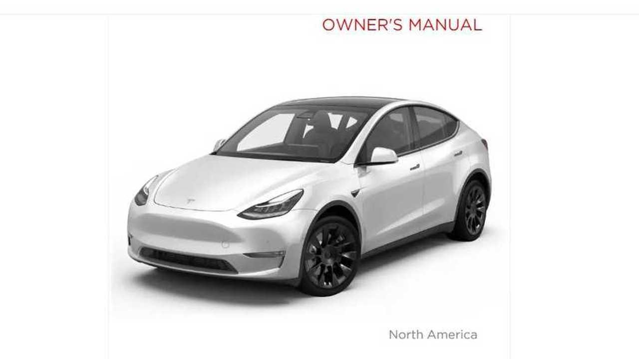 Tesla Model Y Owner's Manual