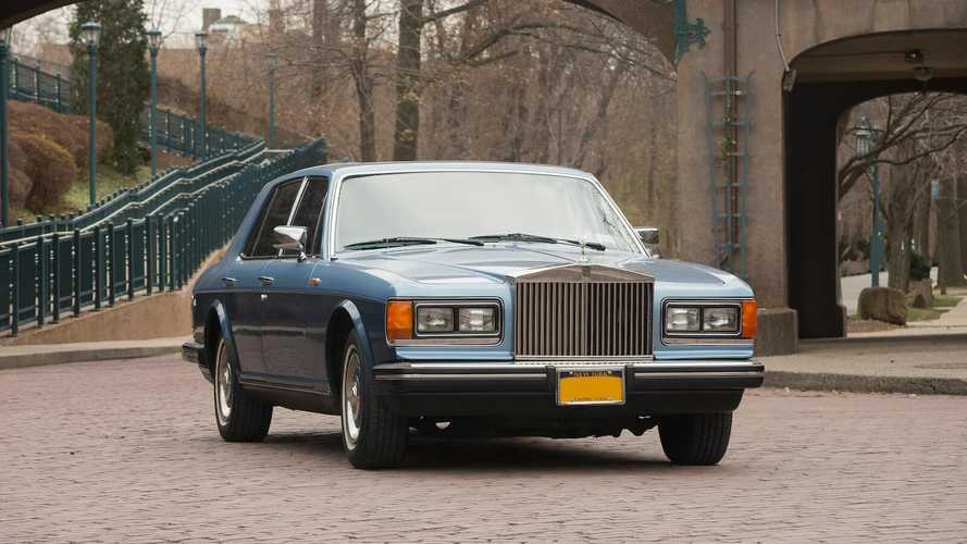 This was Michael Caine's Rolls (not a lot of people know that)