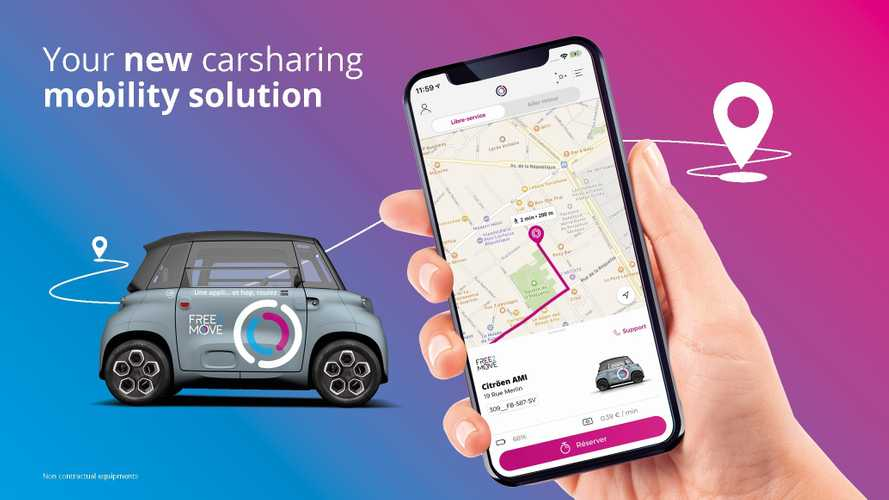 Free2Move Officially Announces Citroën Ami Car Sharing In Paris