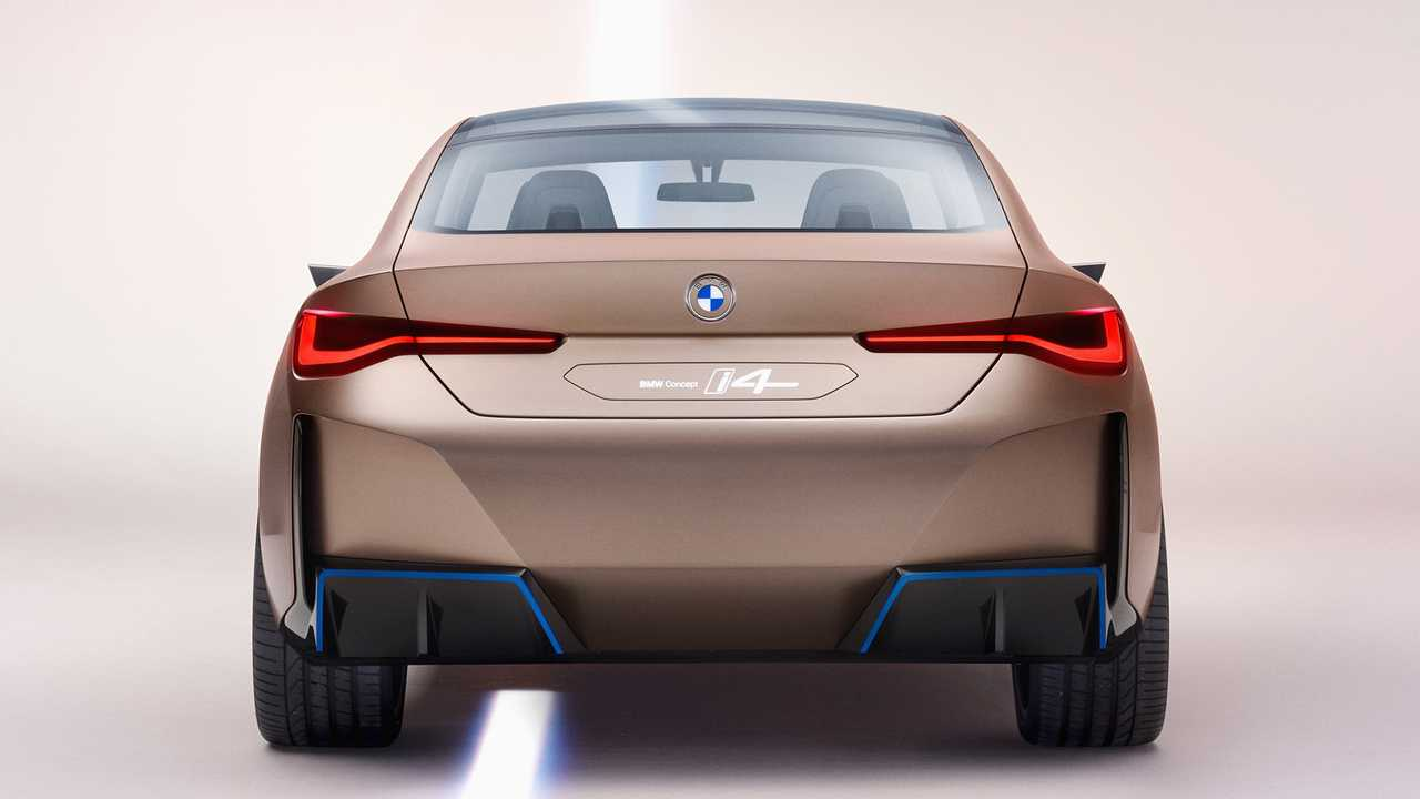 Bmw Debuts New Flatter Logo On Concept I4