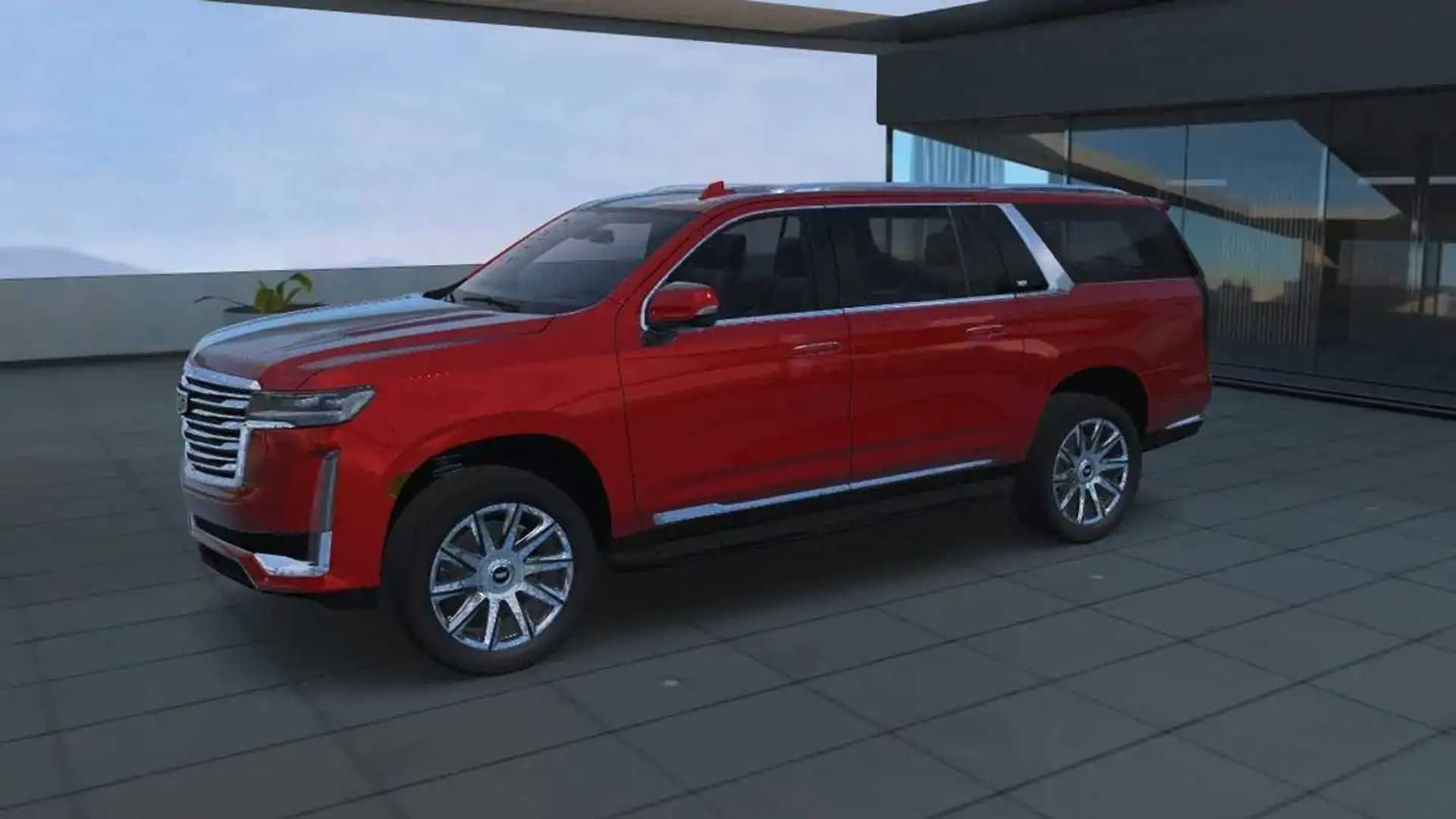 2021 cadillac escalade esv revealed ahead of new york auto