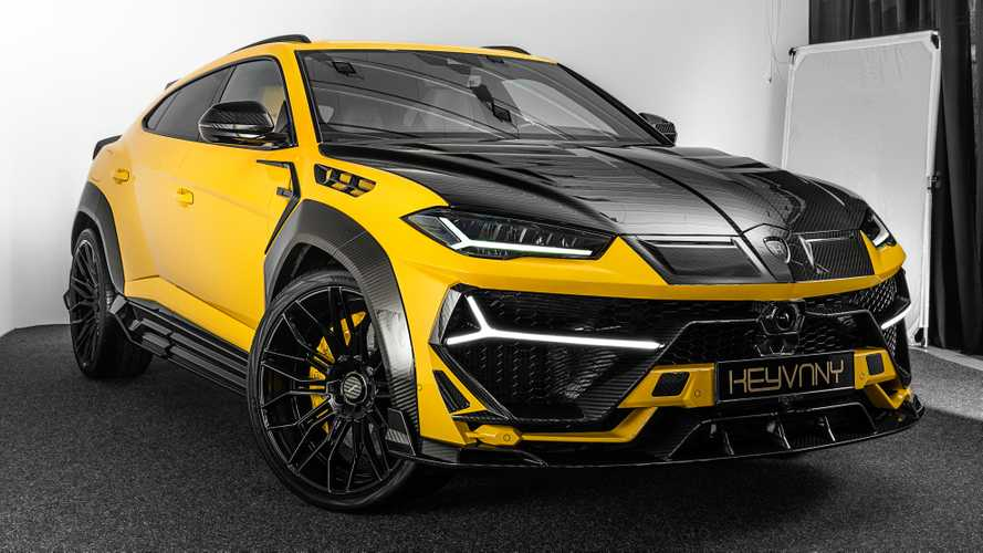 202-mph Lamborghini Urus gets outlandish looks, 820 bhp from tuner