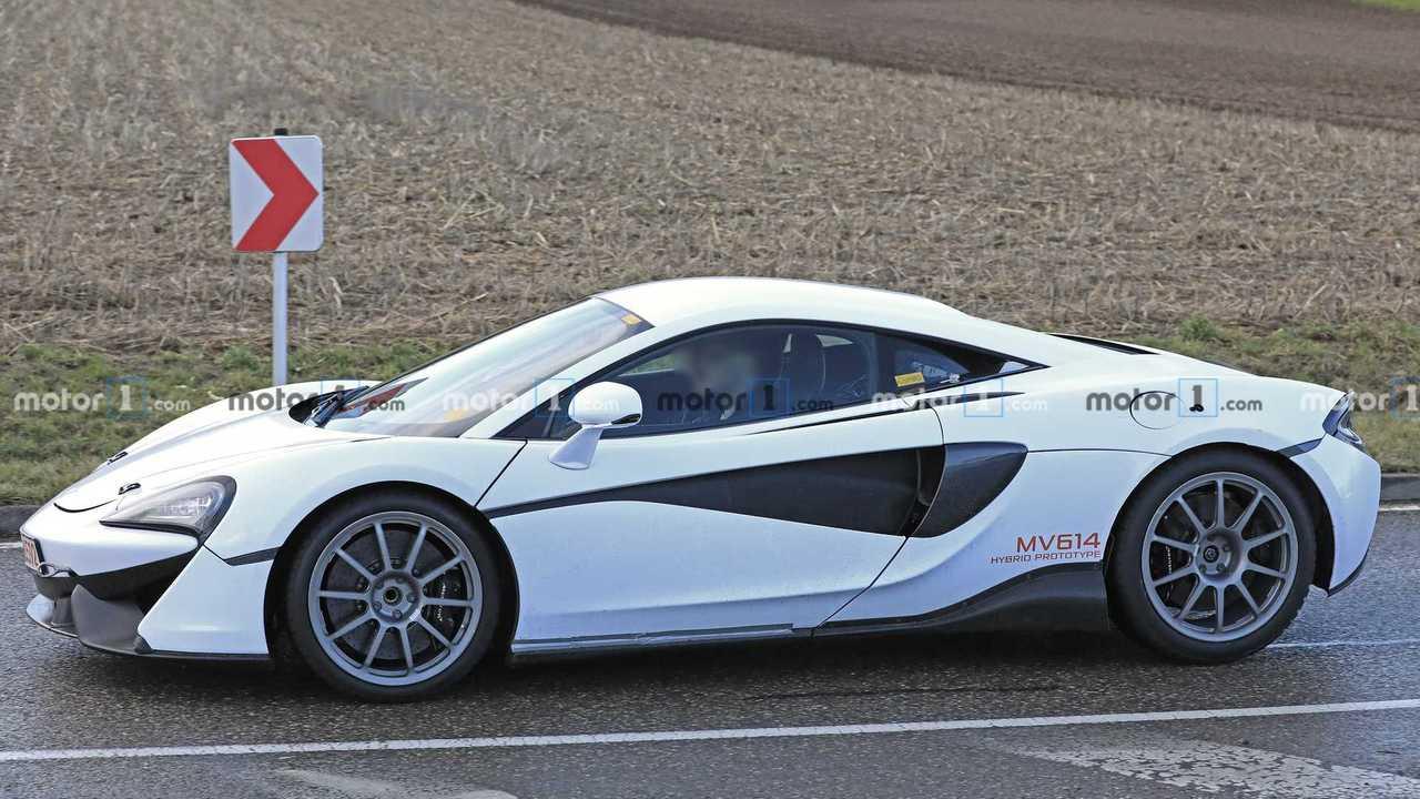 McLaren Sport Series Replacement Spy Shots