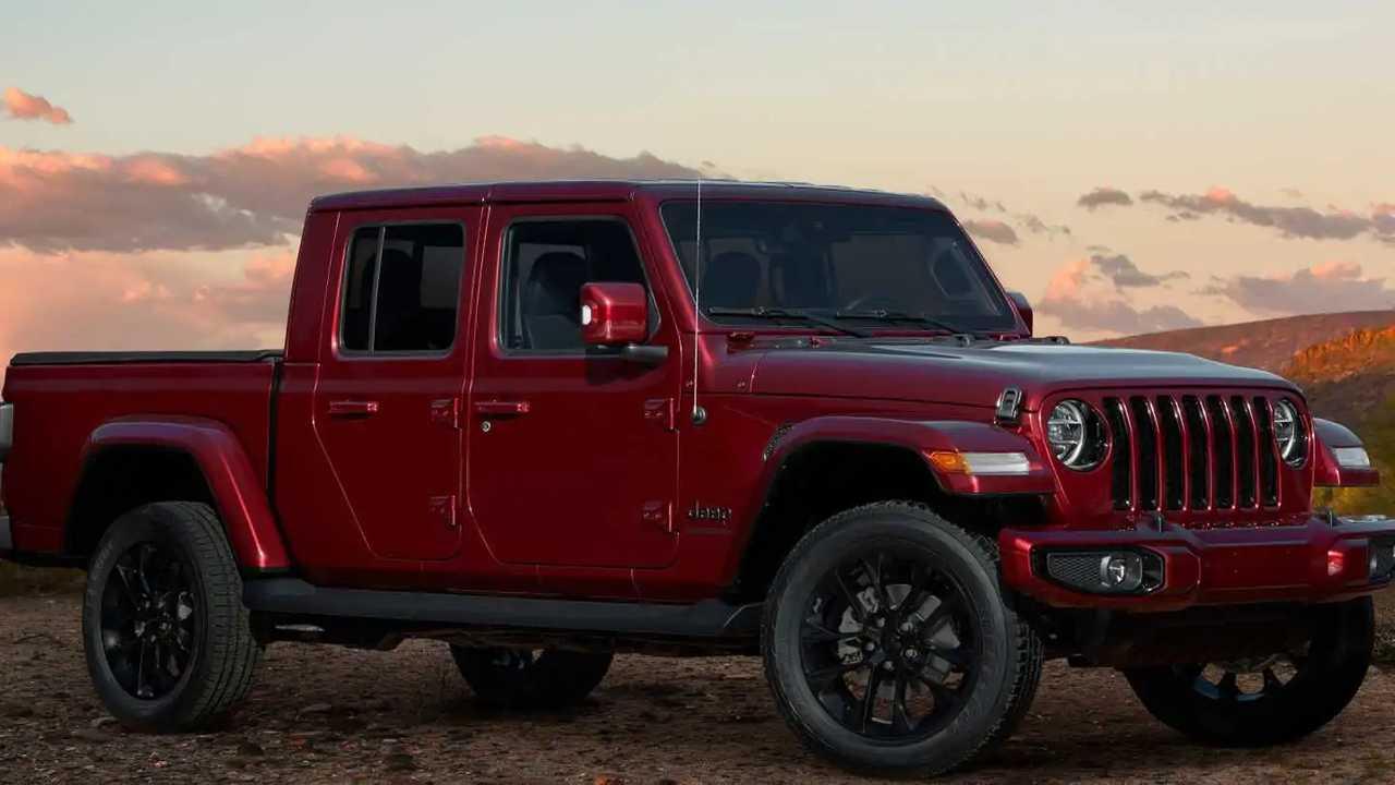 2020 Jeep Wrangler ve Gladiator High Altitude