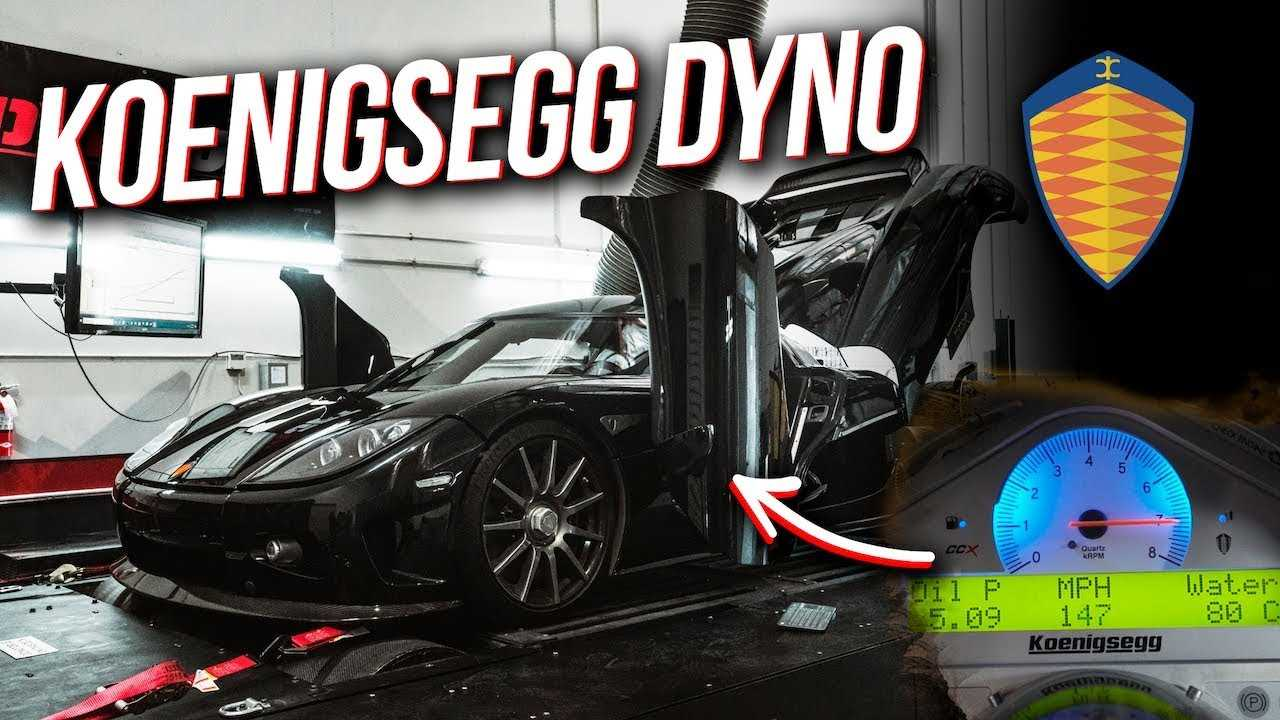 When was the last time you saw a Koenigsegg CCX on a dyno?