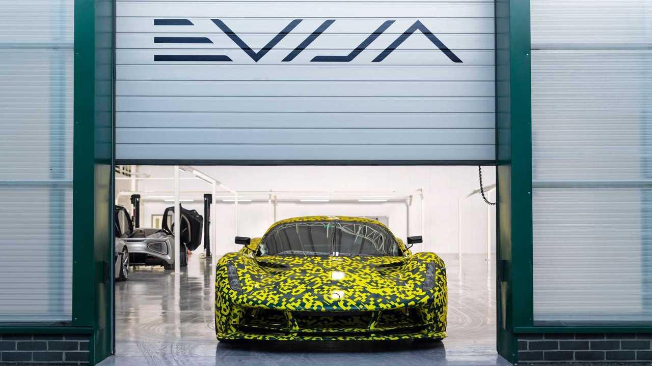 Lotus Evija factory