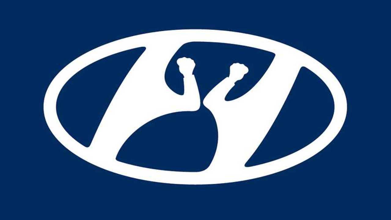 Hyundai también modifica el logotipo para promover el distanciamiento social 13