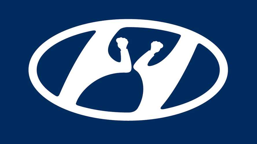Hyundai Also Tweaks Logo To Promote Social Distancing