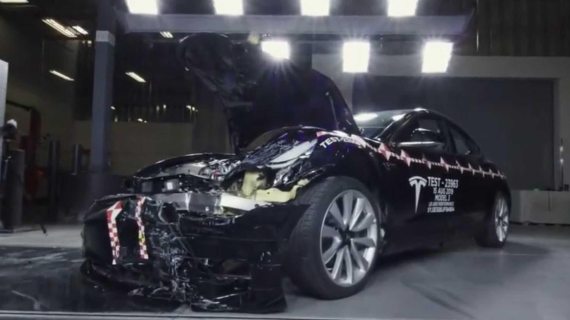 A Look Inside Tesla's Crash Lab In Fremont, California
