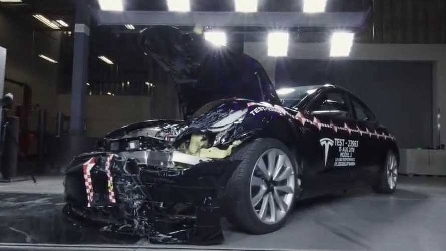 A Look Inside Tesla's Crash Lab In Fremont, California