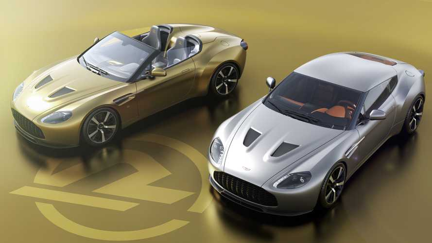 Aston Martin Vantage V12 Zagato Heritage Twins Are Hand-Built Beauties