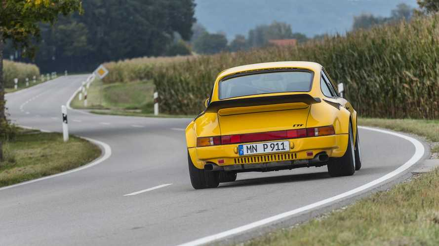 RUF's Yellowbird Porsche flies again!