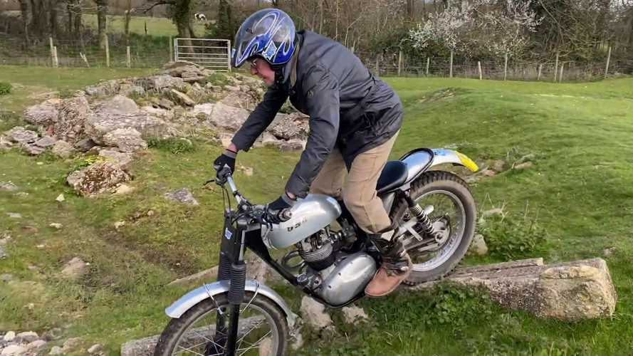 Watch what an 86-year-old trials champion can do with his BSA