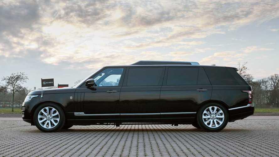 Este Range Rover Autobiography es una limusina en talla XXL