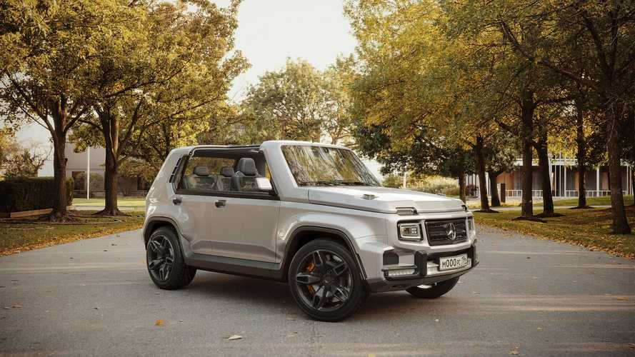 G-Niva Is The Result Of Mashing Up A Lada Niva And Mercedes G-Class