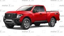 2021 nissan frontier truck details