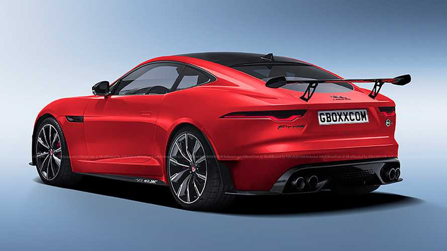 Jaguar F-TYPE SVR 2020, render