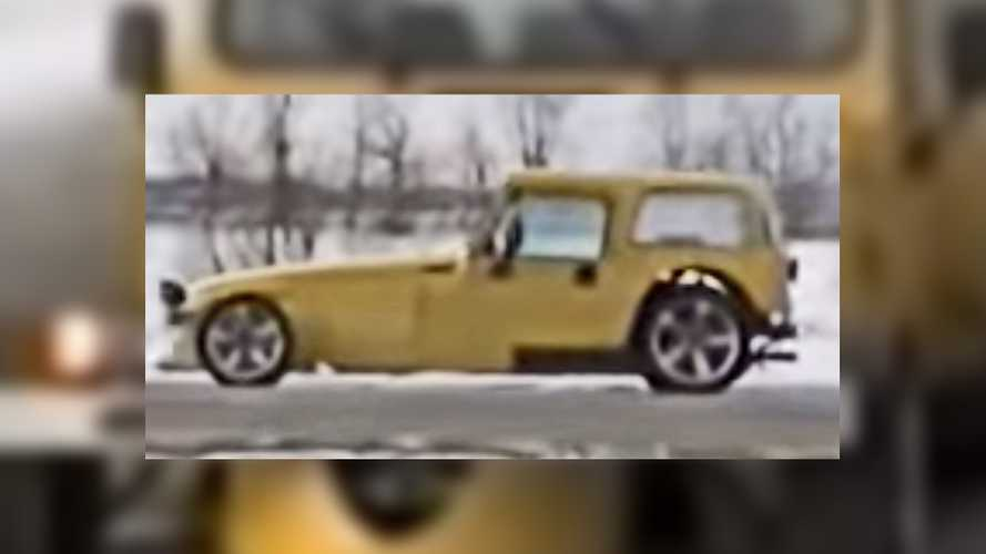 Plymouth Prowler Test Mule With Wrangler Body Can't Be Unseen
