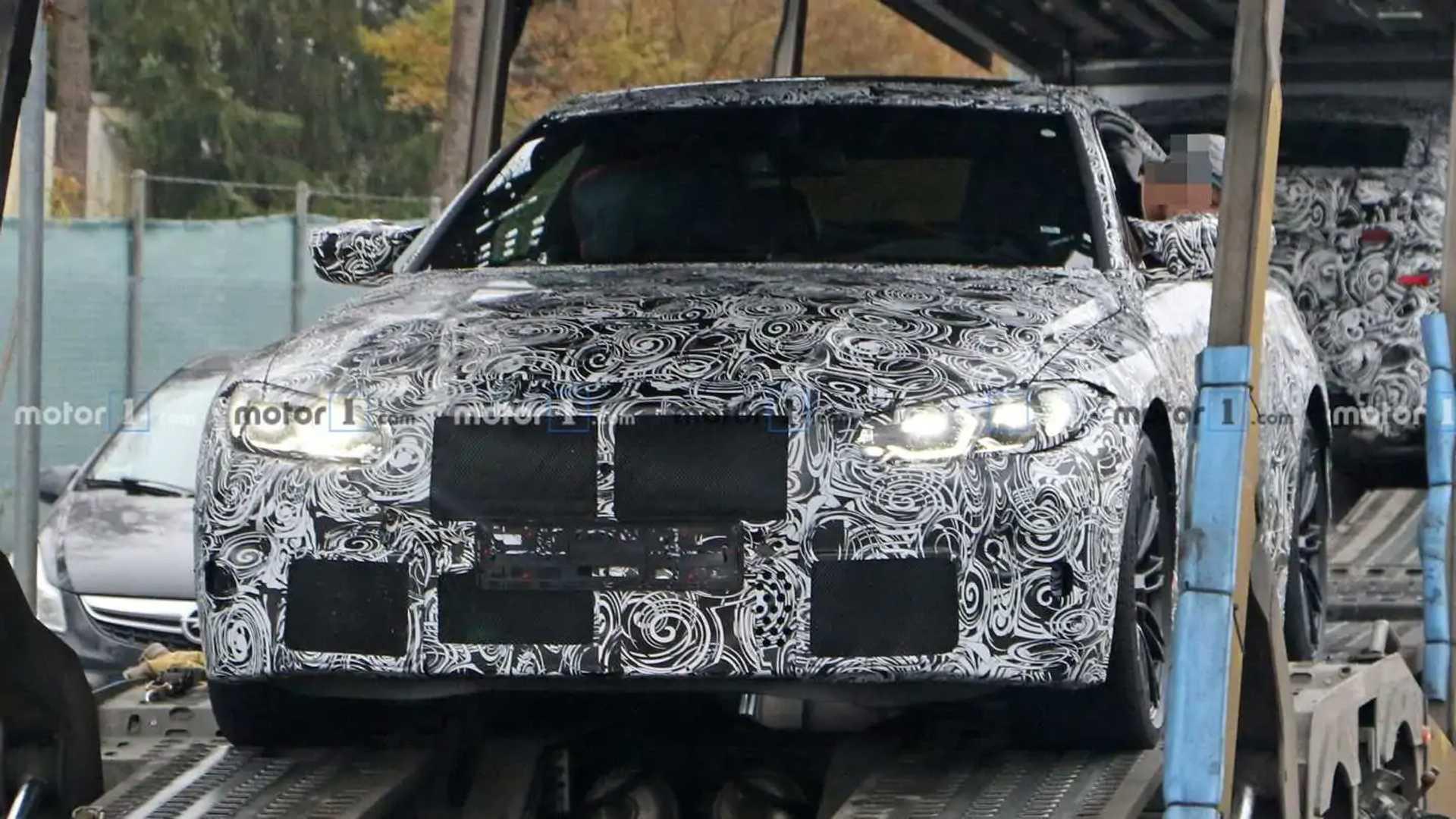 bmw m4 gt3 teaser confirms big grille  500 hp for production model