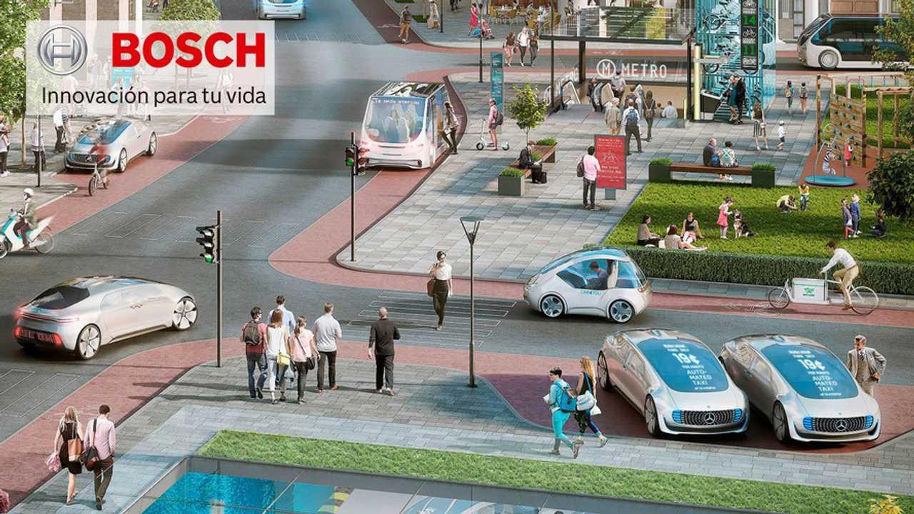 Curso de conducción y nuevas tecnologías BOSCH