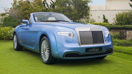 Rolls-Royce Hyperion, bella senza età