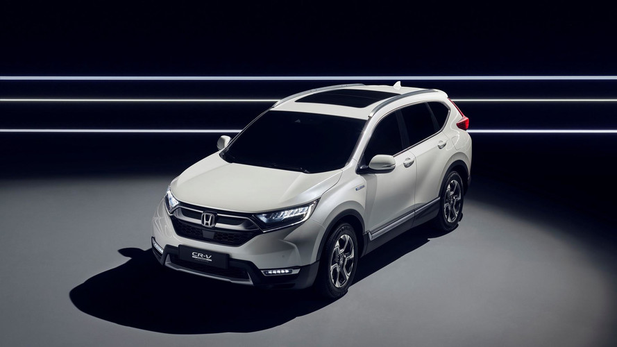 Euro-Spec 2018 Honda CR-V Previewed By Hybrid Prototype