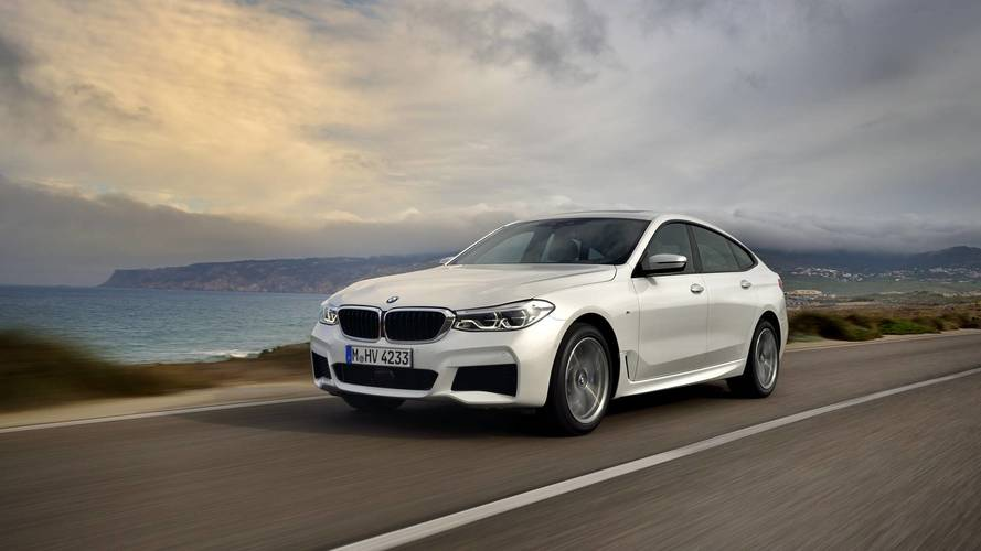 2018 BMW 6 Serisi Gran Turismo'yu fotoğraflarla tanıyın