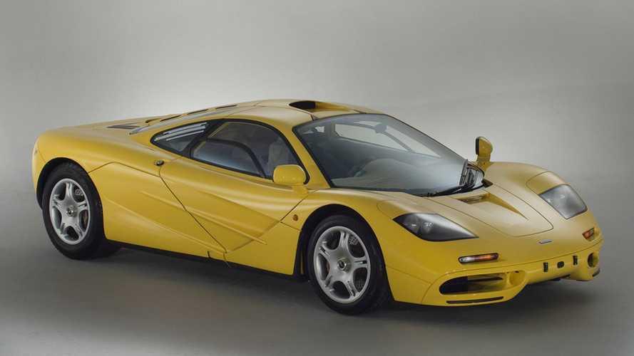 İnanılmaz düşük kilometreli McLaren F1