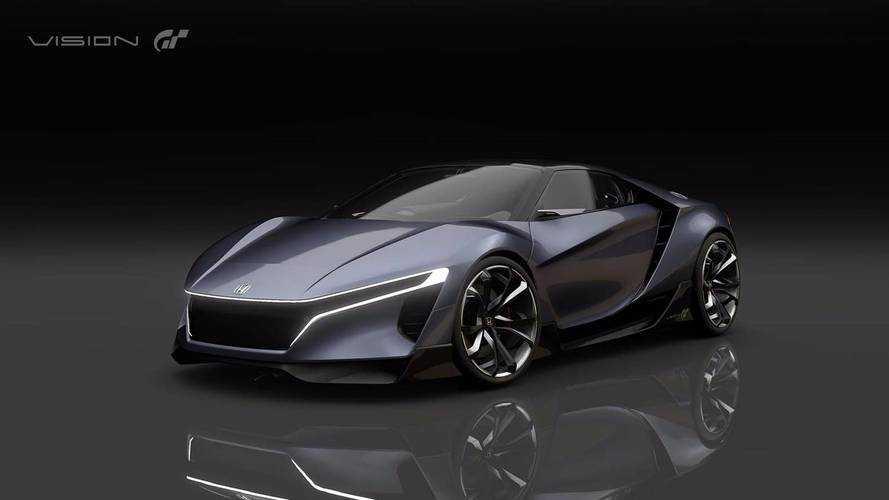 Honda Sports Vision Gran Turismo - 900 kg et 410 ch de bonheur