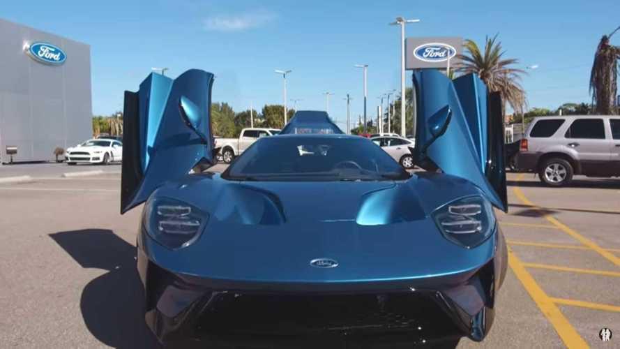 John Cena'nın Ford GT'si tekrardan satılığa çıktı