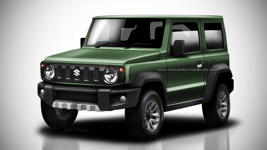 2018 Suzuki Jimny Leaked Images Go High-Res In Colorful Renders