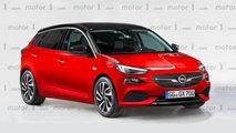 2019 Opel Corsa render