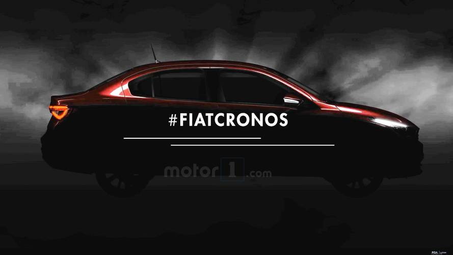 Fiat Cronos, o sedã do Argo, será revelado no próximo dia 27
