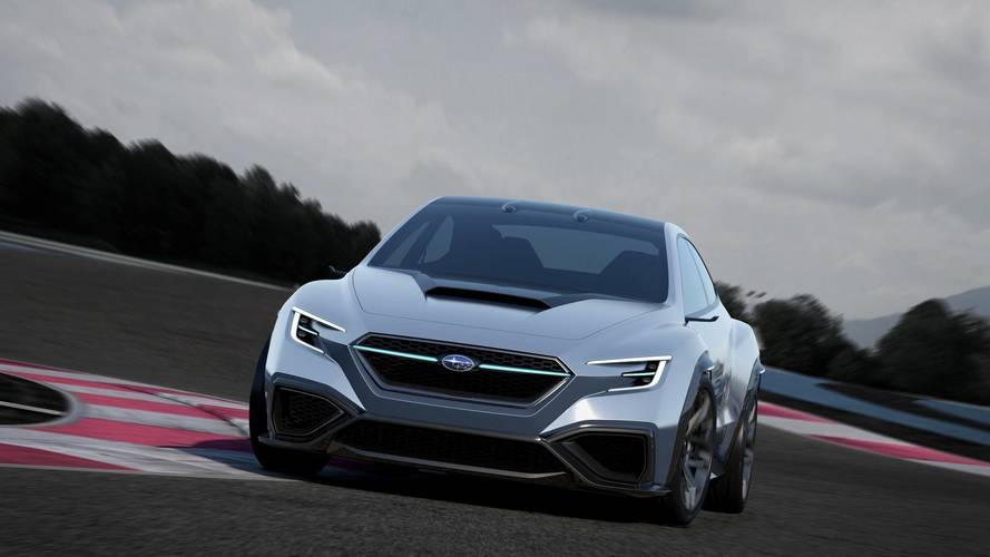 Ebből lesz a jövő WRX-e: Subaru VIZIV Performance Concept