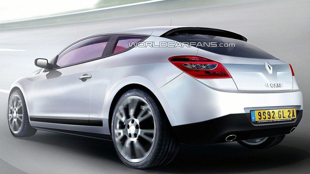 Renault Megane III Coupe Latest Rendering